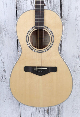 Ibanez AVT1 Artwood Vintage 4 String Tenor Parlor Body Acoustic Guitar Natural
