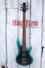 Load image into Gallery viewer, Ibanez SR305E Solid Body 5 String Electric Bass Guitar Cerulean Aura Burst