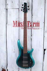 Ibanez SR305E Solid Body 5 String Electric Bass Guitar Cerulean Aura Burst