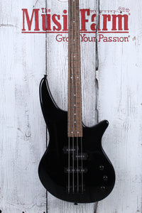 Jackson JS Series Spectra Bass JS2 4 String Electric Bass Guitar Gloss Black