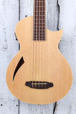 ESP LTD Thinline Series TL-5 5 String Acoustic Electric Bass Guitar Natural