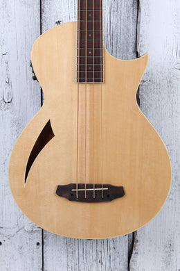 ESP LTD Thinline Series TL-4 4 String Acoustic Electric Bass Guitar Natural