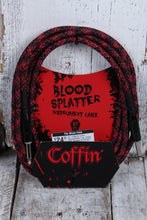 Load image into Gallery viewer, Coffin CF-ICBS10  Bloodsplatter Insrument Cable 10 Foot Straight to Straight