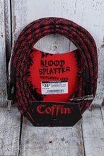 Load image into Gallery viewer, Coffin CF-ICBS25R Bloodsplatter Insrument Cable 25 Foot Right Angle to Straight