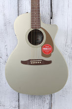 Load image into Gallery viewer, Fender Newporter Player Acoustic Electric Guitar Solid Spruce Top Champagne
