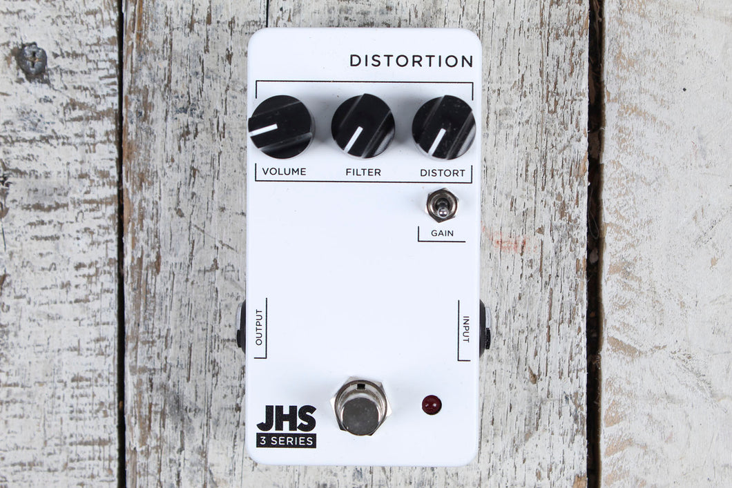 JHS Pedal 3 Series Distortion Pedal Electric Guitar Distortion Effects Pedal