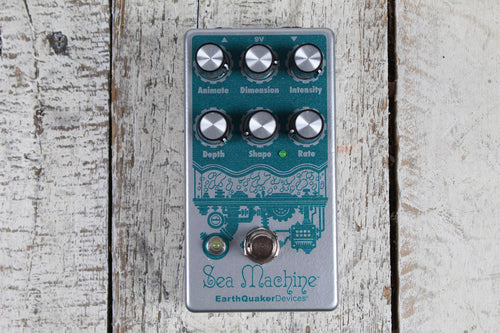 EarthQuaker Devices Sea Machine V3 Super Chorus Electric Guitar Effects Pedal
