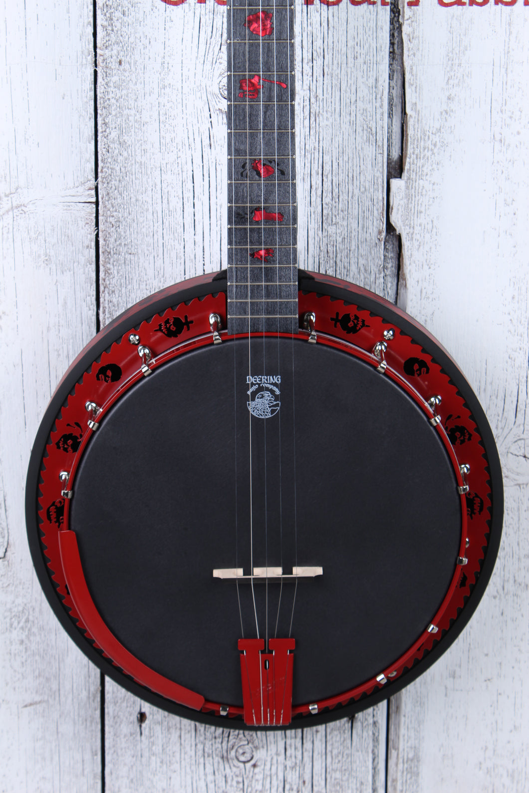 Deering Limited Edition Goodtime Zombie Killer II 5 String Resonator Banjo