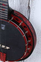 Load image into Gallery viewer, Deering Limited Edition Goodtime Zombie Killer II 5 String Resonator Banjo