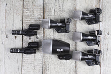 Load image into Gallery viewer, CAD Audio Stage 7 Premium 7 Piece Drum Microphone Pack Mic Set D29 C9 D19 D10