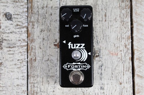 Fortin FUZZ ))) Electric Guitar and Bass Fuzz Effects Pedal Made in the USA