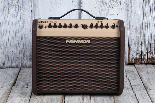 Fishman Loudbox Mini Acoustic Guitar Amplifier 2 Channel 60W Amp with Bluetooth