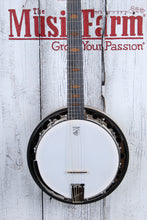Load image into Gallery viewer, Deering Goodtime Six-R 6 String Banjo with Resonator Midnight Maple Fretboard