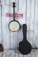 Load image into Gallery viewer, Stella by Oscar Schmidt Vintage 1920's 4 String Banjo with Chipboard Case