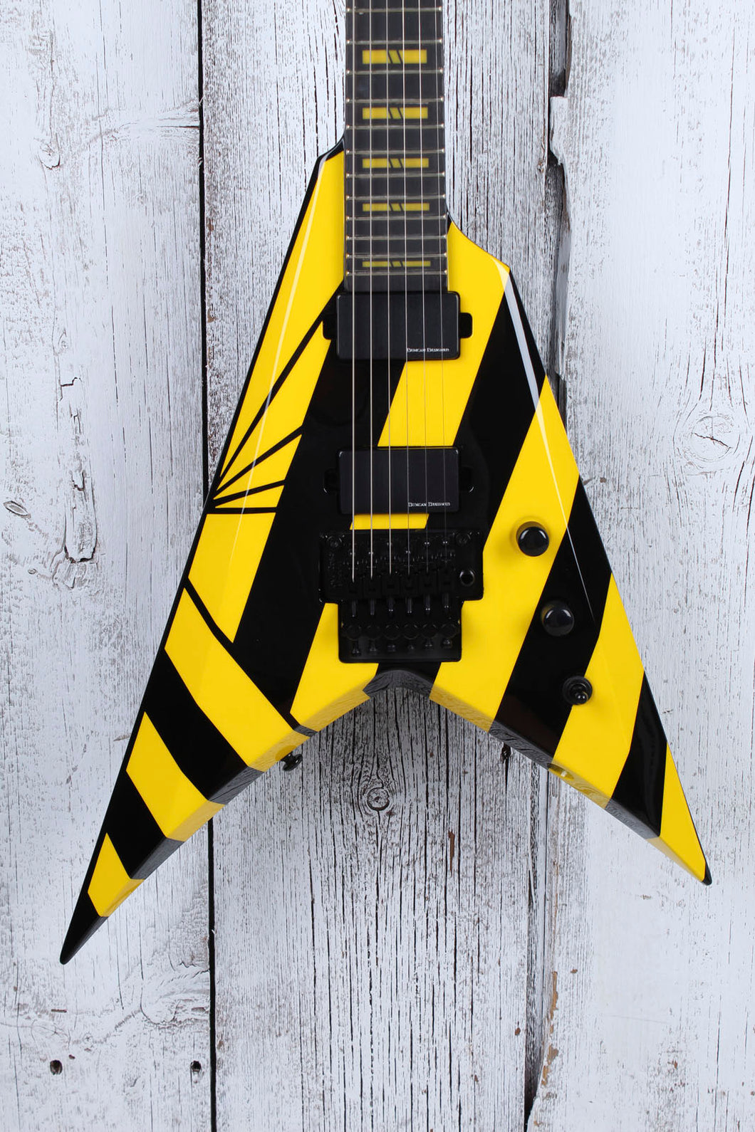Washburn Michael Sweet Stryper Parallaxe V260FR Electric Guitar with Gig Bag