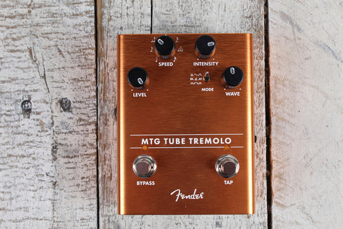 Fender MTG Tube Tremolo Pedal Electric Guitar Effects Pedal Real Tube Tone