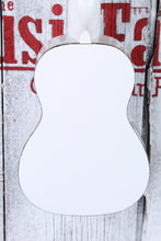 Load image into Gallery viewer, Luna Uke Hau Snow White Soprano Ukulele Walnut Fretboard UKE HAU S with Gig Bag