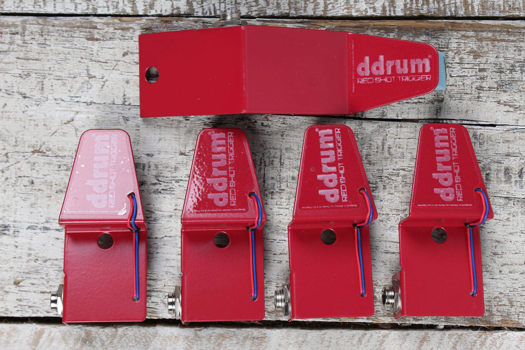 DDRUM RedShot Triggers New Old Stock