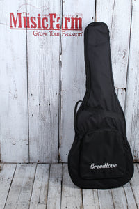 Breedlove Organic Artista Concertina CE Acoustic Electric Guitar with Gig Bag
