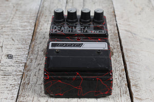 DOD FX86 Jason Lamb Death Metal Blood Splatter Electric Guitar Effects Pedal