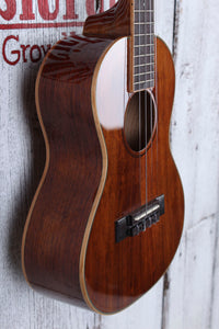 Kala Hawaiian Koa Gloss Tenor Ukulele All Koa Body Uke Gloss Natural Finish