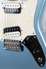 "Load image into Gallery viewer, Fender Squier Paranormal Super-Sonic 24"" Scale Electric Guitar Ice Blue Metallic"