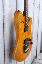 Load image into Gallery viewer, EVH Wolfgang WG Standard QM Electric Guitar Quilt Maple Top Transparent Amber