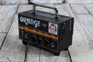 Orange Micro Dark Solid State Hybrid Electric Guitar Amplifier Head 20W Amp