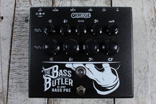 Load image into Gallery viewer, Orange BASS BUTLER Bi-Amp Bass Guitar Preamp Pedal with Bass and Guitar Channels