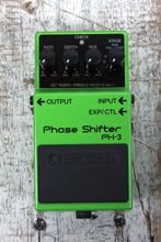 Load image into Gallery viewer, Boss PH-3 Phase Shifter Electric Guitar Effects Pedal with Selectable Stages
