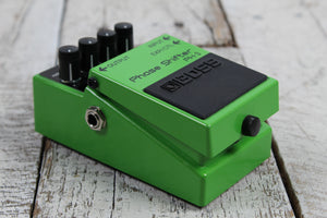 Boss PH-3 Phase Shifter Electric Guitar Effects Pedal with Selectable Stages