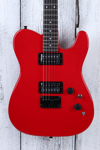 Fender® Boxer Series Telecaster HH Electric Guitar MIJ Torino Red with Gig Bag