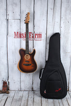 Load image into Gallery viewer, Fender American Acoustasonic Telecaster Acoustic Electric Guitar w Gig Bag & COA