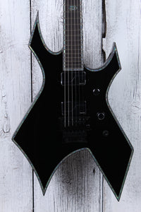BC Rich Warlock Extreme Electric Guitar with Floyd Rose Black Onyx IN STOCK!