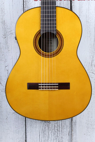 Yamaha CG-TA TransAcoustic Classical Nylon String Acoustic Electric Guitar