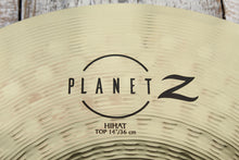 "Load image into Gallery viewer, Zildjian ZP4PK Planet Z Complete Cymbal Pack 14"" Hi-Hat 16"" Crash & 20"" Ride Set"