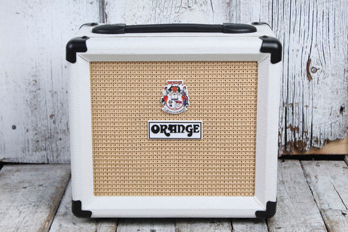 Orange CRUSH 12 LTD White Electric Guitar Amplifier 12 Watt Solid State Amp BLEM