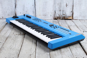 Yamaha MX49 Production Keyboard Synthesizer 49 Key Synth Controller Blue BLEM