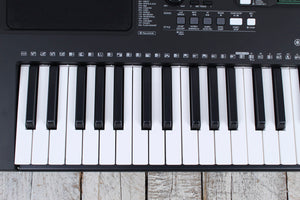 Yamaha PSR-E373 Touch Sensitive 61 Key Portable Keyboard with Survival Kit