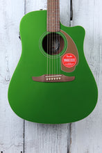 Load image into Gallery viewer, Fender® Redondo Player Acoustic Electric Guitar California Series Electric Jade