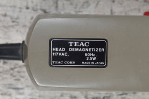 Used TEAC E-3 Electronic Tape Head Demagnetizer
