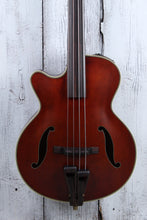 Load image into Gallery viewer, Takamine TB10LH 4 String Fretless Upright Acoustic Electric Bass Guitar w Case