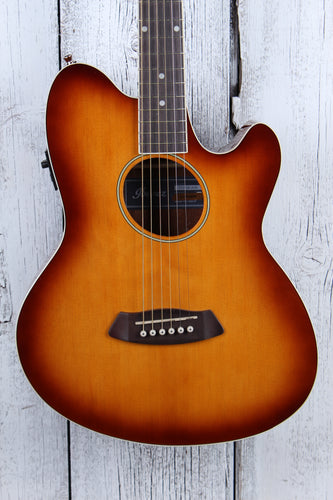 Ibanez TCY10E Talman Double Cutaway Acoustic Electric Guitar Vintage Sunburst