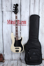 Load image into Gallery viewer, Fender Duff McKagan Deluxe Precision Bass Guitar 4 String P Bass with Gig Bag