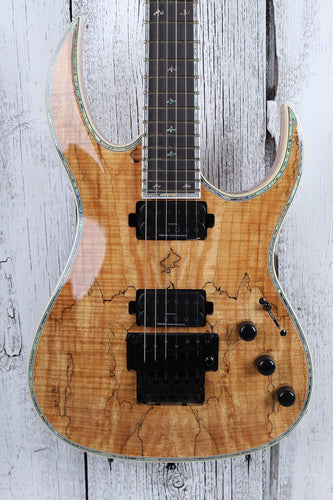 BC Rich Shredzilla Prophecy Exotic Archtop Electric Guitar w Floyd Spalted Maple