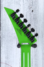 Load image into Gallery viewer, Jackson X Series King V KVXMG Electric Guitar Slime Green with Black Bevels