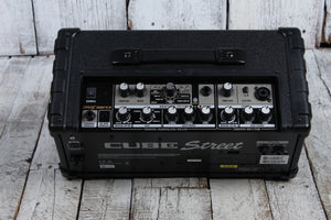 Roland CUBE Street Battery Powered Stereo Electric Guitar Combo Amplifier Black