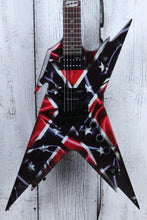 Load image into Gallery viewer, Dean Dimebag Razorback Rebel Flag Electric Guitar REP SAMPLE with Hardshell Case