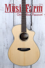 Load image into Gallery viewer, Breedlove Pursuit Exotic Concert CE Acoustic Electric Guitar Striped Ebony Body