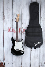 Load image into Gallery viewer, Fender Squier 2007 Affinity Stratocaster SSS Electric Guitar Black with Gig Bag